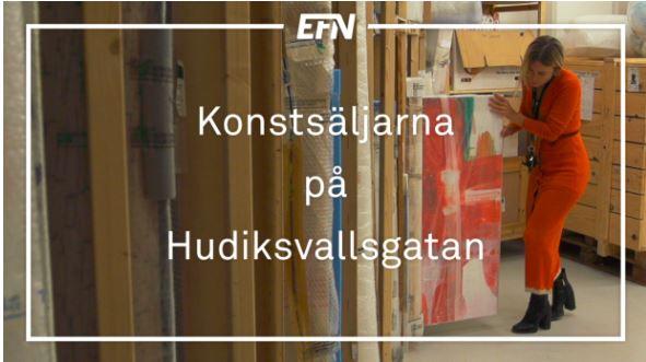 EFN skildrar galleri- och konstscenen i Stockholm